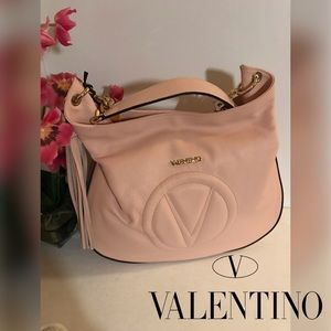 🆕 Valentino Penelope Dollaro Leather Hobo Bag